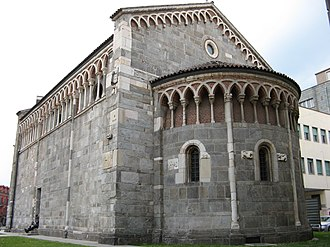 Gallarate - Church of San Pietro.