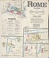 Sanborn Fire Insurance Map from Rome, Oneida County, New York. LOC sanborn06220 001-1.jpg