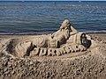 Sand sculpture in Jurmala.jpg