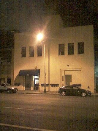 San Francisco City Clinic - SF City Clinic at night.