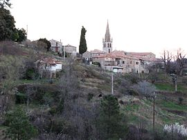 A general view of Sanilhac