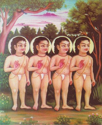 Prithu - The Sanatkumaras preached Prithu about devotion to Vishnu