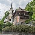 Sankt Urban 2 Mesnerhaus und Pfarrkirche hl Urban 17052015 3727.jpg