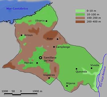Santillana Del Mar Mapa.Santillana Del Mar Wikipedia La Enciclopedia Libre