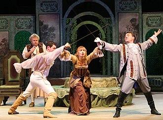 Saratov Drama Theater - Image: Sar Drama Ночь ошибок 3