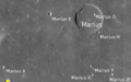 Sattellite Marius craters map.png