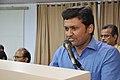 Satyajit Narayan Singh Anchoring - Ganga Singh Rautela Retirement Function - NCSM - Kolkata 2016-02-29 1320.JPG