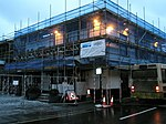 File:Scaffolding on The Red Lion in Petersfield town centre - geograph.org.uk - 1631062.jpg