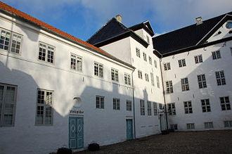 Dragsholm Castle - Dragsholm courtyard in 2009