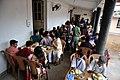 Schoolchildren and Teachers - Lunch Hour - Science Drama Competition Day - BITM - Kolkata 2015-07-22 0456.JPG