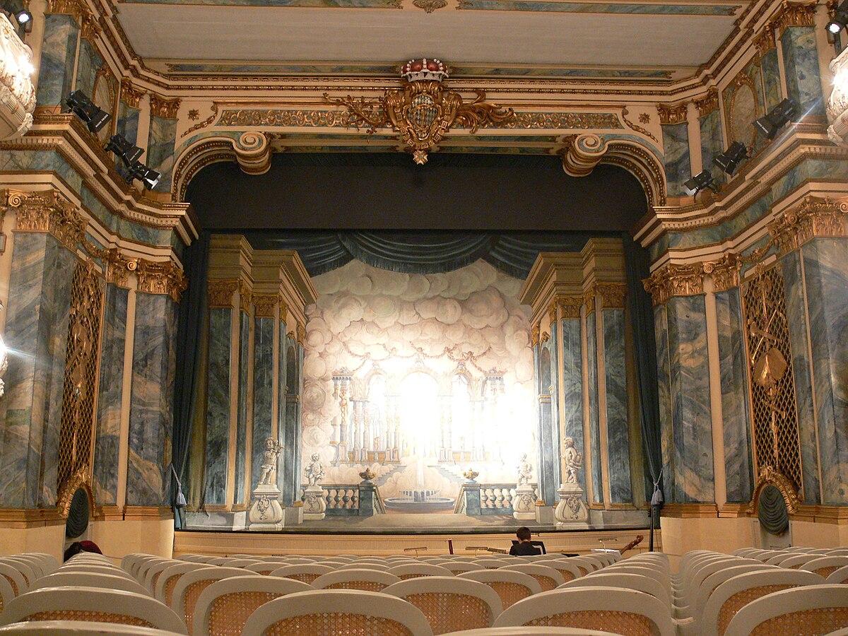 Teatro Del Palacio Schwetzingen Wikipedia La