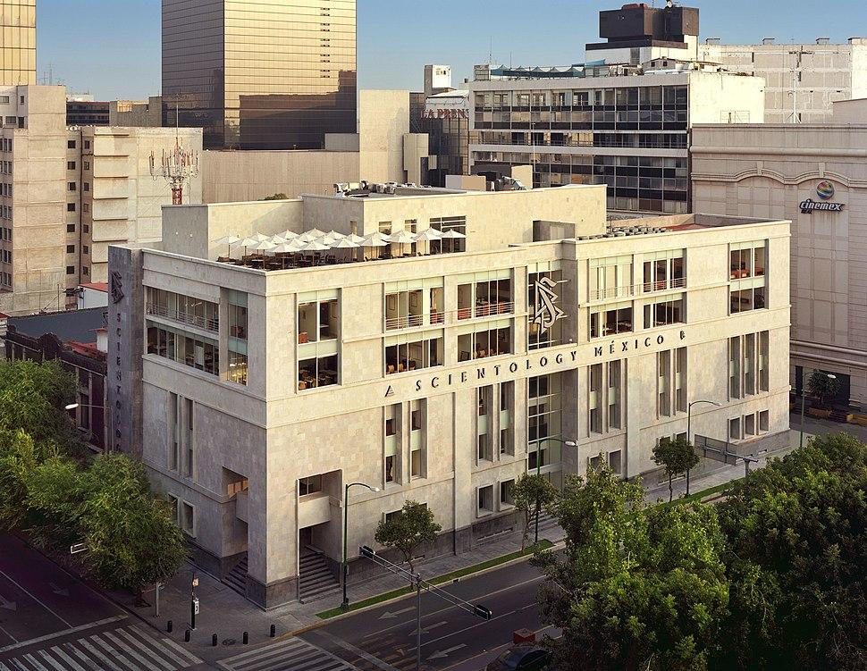 Scientology Mexico building in 2010