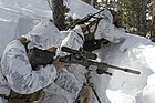 Scout sniper snow MARPAT