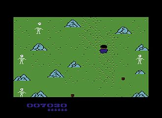 Commodore 64 software - Example of a SEUCK-derived game