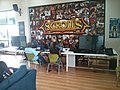 Scrolls CCG table at Intel Kenya Gaming Championship by Nexgen at the iHub Nairobi.jpg
