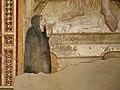 Scuola fiorentina di taddeo gaddi, santa maria maddalena e una devota, 1373, 04 monaca.jpg