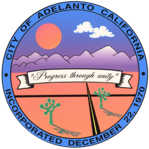 Adelanto, California - Image: Seal of Adelanto, California