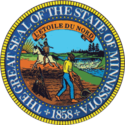 Seal of Minnesota.