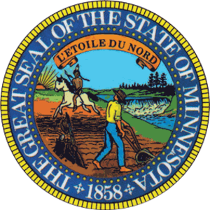 Minnesota Legislature - Image: Seal of Minnesota alt