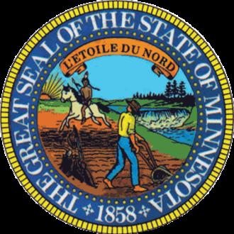 Minnesota House of Representatives - Image: Seal of Minnesota alt