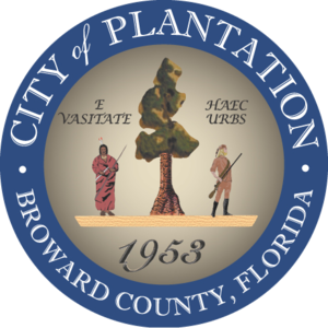 Plantation, Florida - Image: Seal of Plantation, Florida