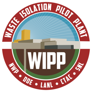 Waste Isolation Pilot Plant deep geological repository for radioactive waste
