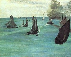 Vue de mer, temps calme