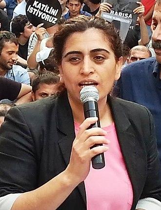 Peoples' Democratic Party (Turkey) - Image: Sebahat Tuncel