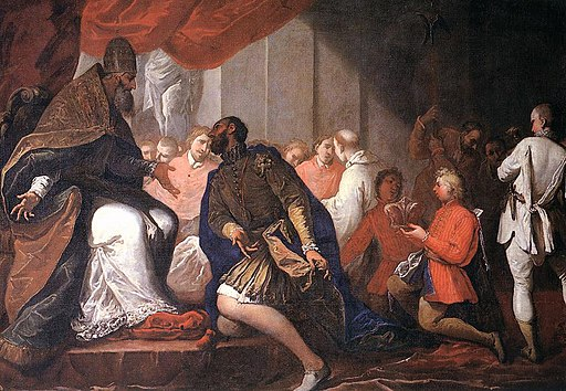 Sebastiano Ricci - Paul III Appointing His Son Pier Luigi to Duke of Piacenza and Parma - WGA19422