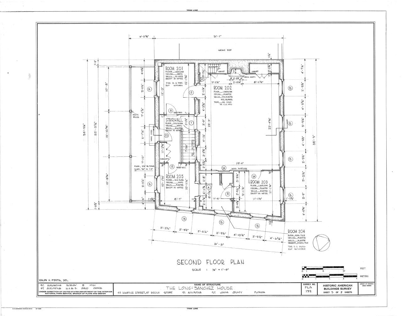 File Second Floor Plan Long Sanchez House 43 Marine
