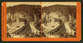 Secret Town, trestle from the west, length 1,100 feet, by Watkins, Carleton E., 1829-1916.png