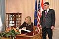 Secretary Clinton Signs the Guestbook (8142548638).jpg