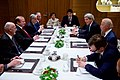 Secretary Kerry Addresses Afghanistan President Ghani and Pakistan Prime Minister Sharif During Trilateral Meeting With Vice President Biden on Sidelines of World Economic Forum in Switzerland (23890500733).jpg