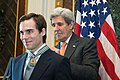 Secretary Kerry Honors an Individual Fighting to End Human Trafficking (29911540823).jpg