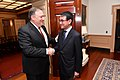 Secretary Pompeo Shakes Hands With Japanese Foreign Minister Taro Kono (40502335630).jpg
