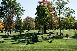 Knollwood Cemetery - Section 27 at Knollwood Cemetery.