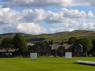 Sedbergh School - The school's playing field