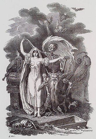 Eustache-Hyacinthe Langlois - Seductive death by Langlois