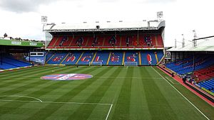 Crystal Palace F.C. - Holmesdale Road stand at Selhurst Park, constructed in 1994–95.