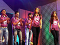 Sen sisters at Celebrity Cricket League Premier 2011.jpg