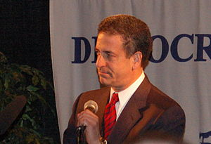 English: Senator from Wisconsin, Russ Feingold.