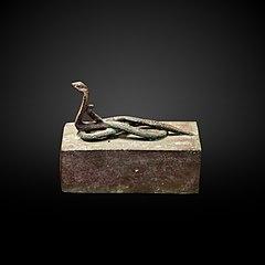 Serpent sarcophagus-N 5198