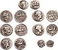 Seven Roman AR coins 680980.jpg