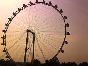 :en:Singapore Flyer taken from :en:East Coast ...