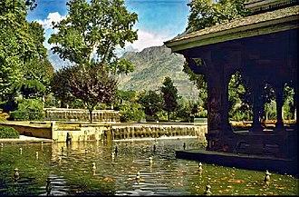 Mughal gardens - Shalimar Bagh, Srinagar, Kashmir