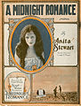 Sheet music cover - A MIDNIGHT ROMANCE - LONELY MARY (1919).jpg
