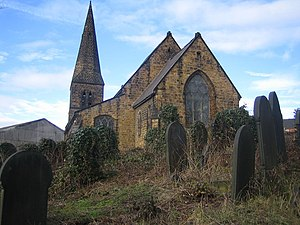 St Thomas, Brightside - St Thomas, seen from the north west