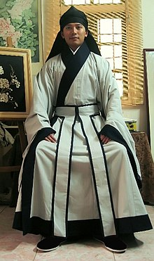 48812b78b Shenyi - Shenyi (深衣) - formal wear for men