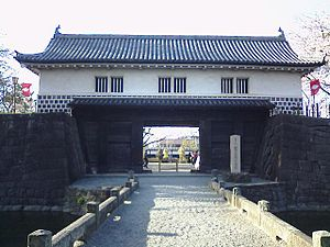 Shibata Castle - Image: Shibatajo 002