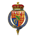 Shield of arms of Prince Alfred of Edinburgh, Hereditary Prince of Saxe-Coburg and Gotha.png